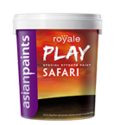 High Sheen Asian Paints Royale Play Dune And Safari, Packaging Type: Can, Packaging Size: 1 Lit