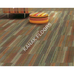Interface Carpet Tile with Glass