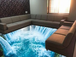 Residential Building For Indoor 3d Flooring India Rs 350