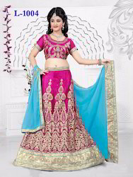 Heavy Embroidered Designer Lehenga