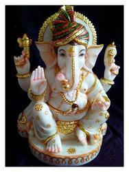 Handcrafted Ganesh Marble Statue