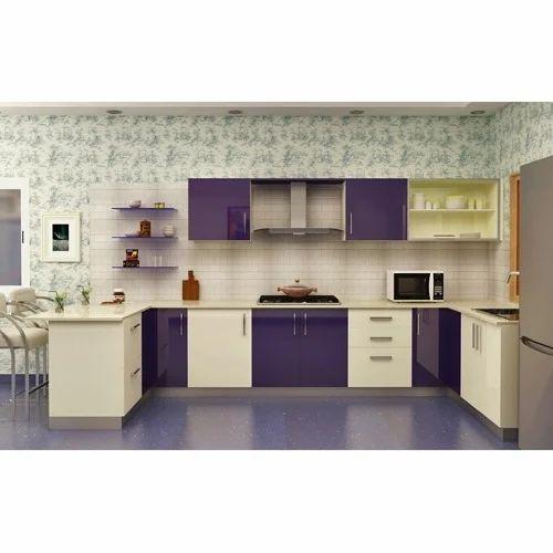 U Shape Modular Kitchen At Rs 100000 /starting Price