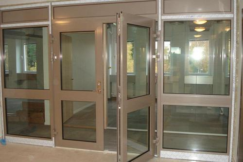 Glass Fully Glazed Fire Rated Door Fg Glass Industries Private