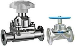Pneumatic diaphragm valves manufacturers suppliers dealers in pneumatically operated weir diaphragm valve ccuart Gallery