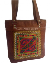 Embroidery Tote Small Bag