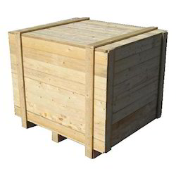 Natural Wood Colour Wooden Packaging Box