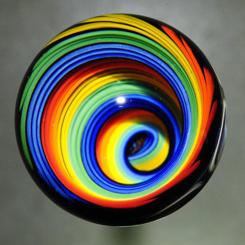 Rainbow Marble Ball, Marble & Stone Artifacts   Cogensia Overseadc