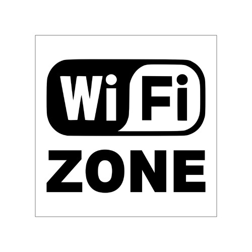Clickforsign Wifi Zone Sign Sticker, SIGN11, Indoor Sign Board, Commercial  Sign Board, Custom Sign Board, Board Sign, Signboards - Shital Signs (p)  Ltd., Ahmedabad | ID: 10731013373