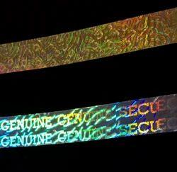 Void Tamper Evident Hologram Tapes Labels