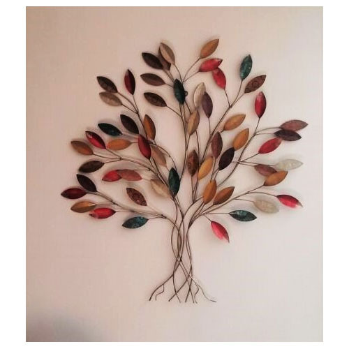 Metal Wall Decor Tree