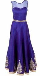 Designer Floral Gown
