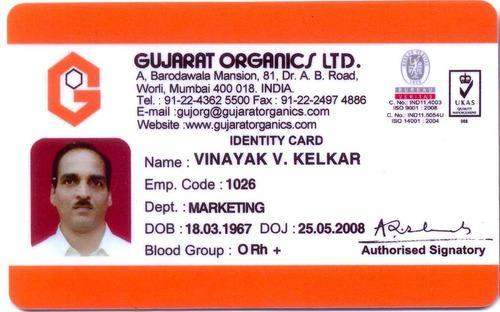 Visual piece Pvc Id Badge 35 Basic Id Rs Card 1679783073 Technologies Rectangular