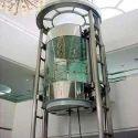 Stainless Steel 10m Hydraulic Elevator, Capacity: 816 Kg , 0.3 M/s