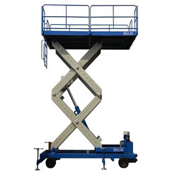 High Scissor Cargo Goods Lift