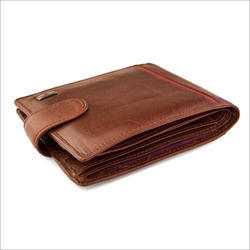 Male Brown Leather Wallet