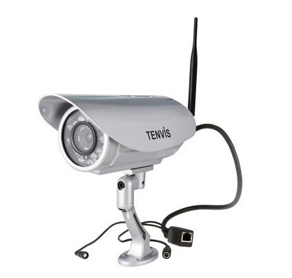 Tenvis Hd Outdoor Wireless P2p Ip Camera, Ip391w Hd