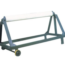 FRP Red Batching Trolley