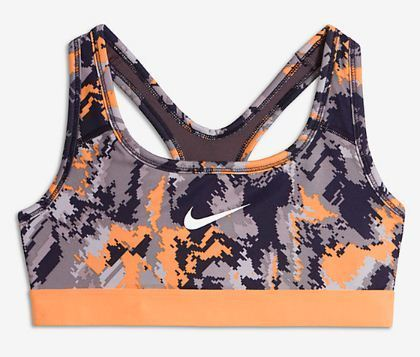 nike pro sports bra ladies