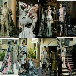 Silk Casual Wear Eram Khan Collection Designer Dress