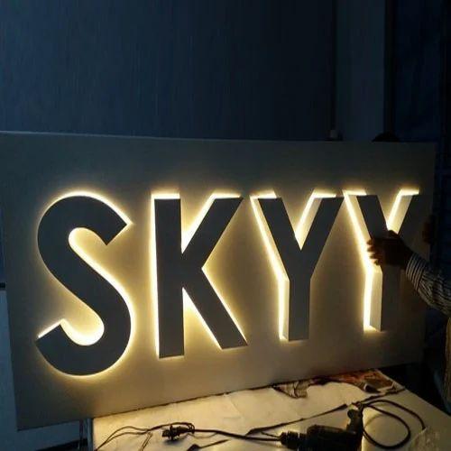 Lighting Signboard Design Lighting Ideas