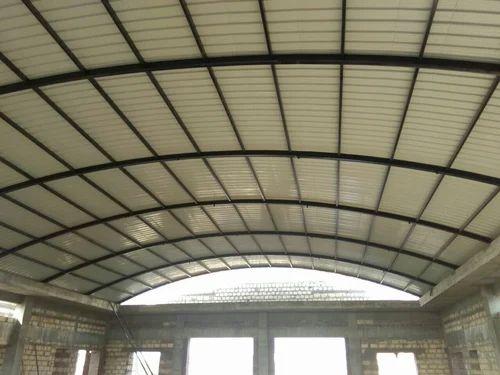 Mild Steel Auditorium Roofing Shed