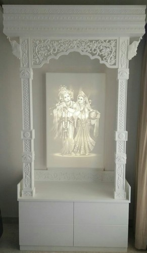 Charmant Corian 3D Work Temple With Corian Cabinet