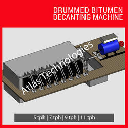 Drummed Bitumen Decanting Machine