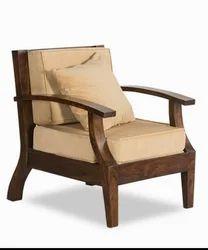 Wooden Cushion Chair