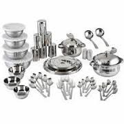 51 Pc Stainless Steel Dinner Set