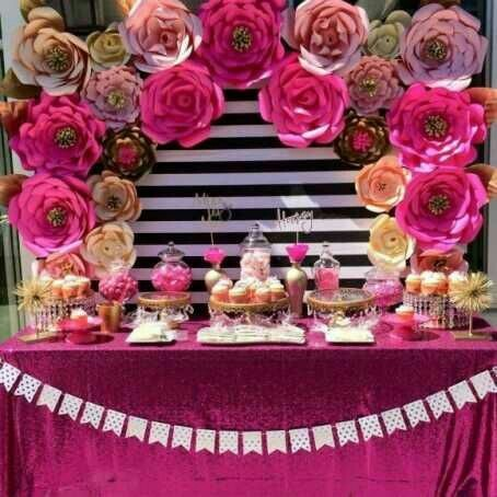 Paper flower party decoration services in taltala kolkata mahan paper flower party decoration services mightylinksfo