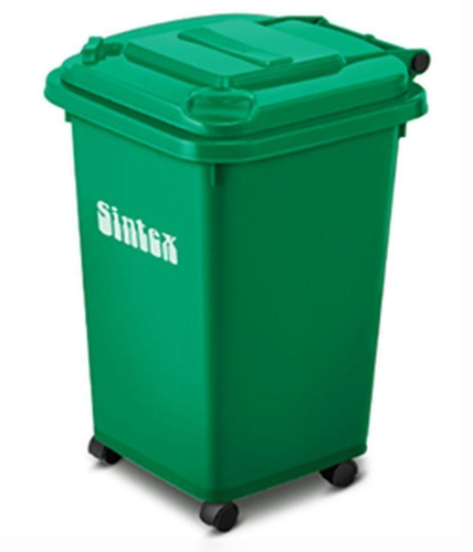 Blue And Yellow Sintex Wheeled Dustbin Rs 4320 Unit Nd