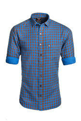 Micro Checked Casual Shirt