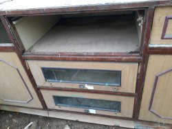 Used Wooden TV Stand
