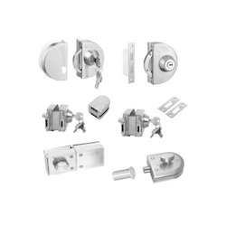 Glass Door Locks Without Cut Out