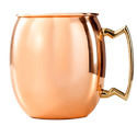 Tin Lined Solid Copper Moscow Mule Mug