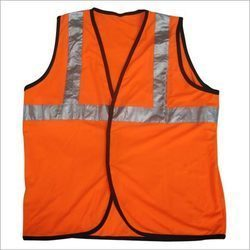 Cotton Polyester Large Industrial Safety Jacket, for Construction