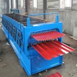 Mild Steel Double Layer Roll Forming Machine