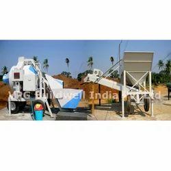 Mobile Automatic Concrete Batching Plant - 3 Bin Feeder Concrete