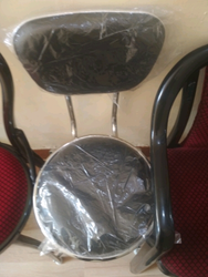 Stainless Steel Leather Chair