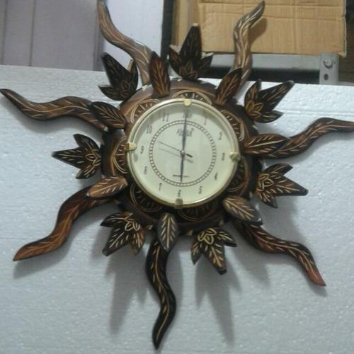 Smile Handicrafts Saharanpur Wholesaler Of Wooden Wall Clock And