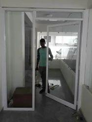 Aluminium Powder Coated Glass Door