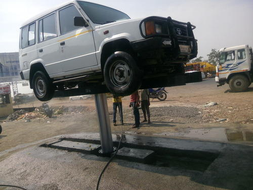 Vehicle Ramp And Lift Hydraulic Car Washing Lift