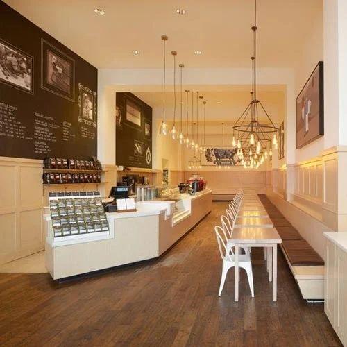 Cafe Interior Design Service, Interior Designing Services in Kirti ...