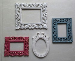 Wooden Photo Frame With Colour Etc Square Shape