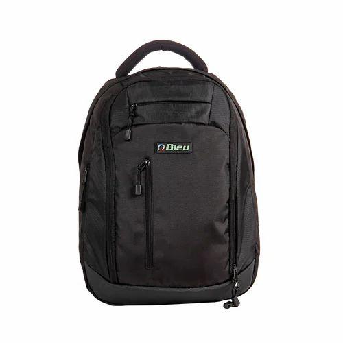 60a70c0319 Nylon Laptop Bag Black Laptop Backpack Bag, Rs 750 /piece | ID ...