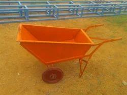 Poly Tray Wheelbarrow Trolley