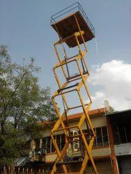 Scissor Lift Tables High Raised
