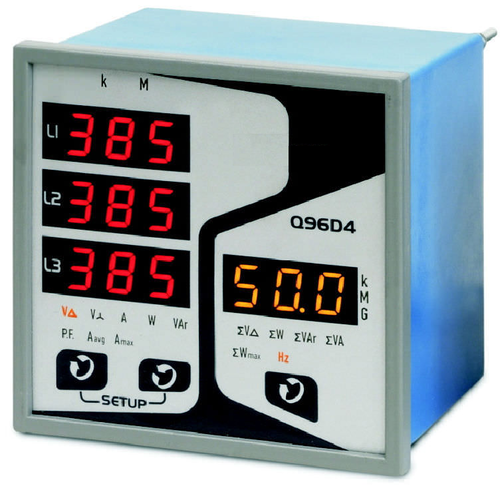 Three Phase Multifunction Meter