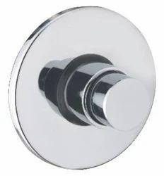 Flush Clock Push Type