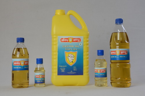 Appu Castor Oil, Packaging Type: Plastic Bottle And Can